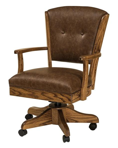 Amish Desk Chair by Lansfield Desk Chair From Dutchcrafters Amish Furniture