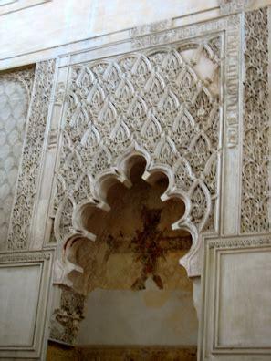 interior wall, synagogue of maimonides, cordoba   common