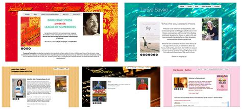 templates for authors authorlicious template preview page 30 day books
