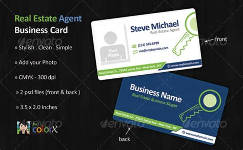 real estate business card template psd 10 real estate business cards psd ai illustrator