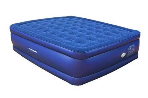 king air bed smart air beds raised deluxe coil beam flock top air bed