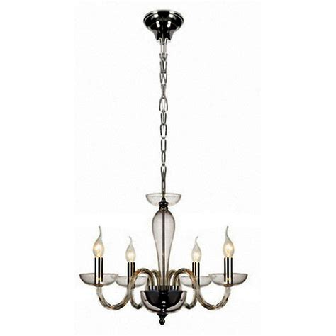 Modern Metal Chandelier Modern 4 Clear And Metal Chandelier 9389 Browse