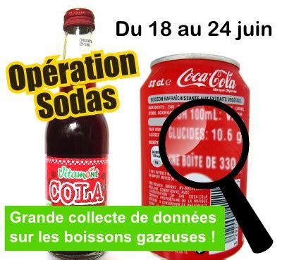 soda alimentare nos actions