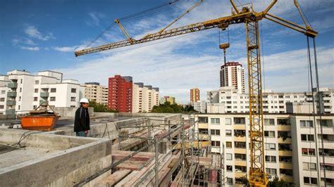 berliner morgenpost wohnungen in berlin werden immer mehr neue wohnungen gebaut berlin