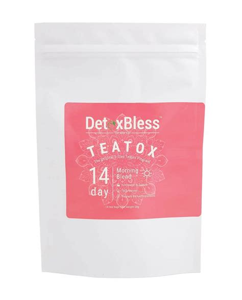 Bless Detox by Detox Bless 14 Day Morning No Shadow 59111 Detox Bless