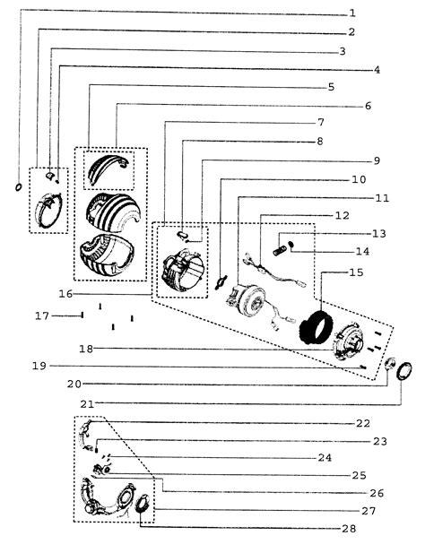 dyson dc24 parts diagram motor assy diagram parts list for model dc24 dyson inc