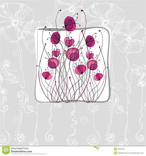 imagenes de flores ilustradas flores lindas ilustradas imagen de archivo imagen 13332731
