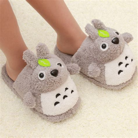 Totoro Slippers Cartoon Cute House Slippers Funny Slippers Home Autumn And Winter