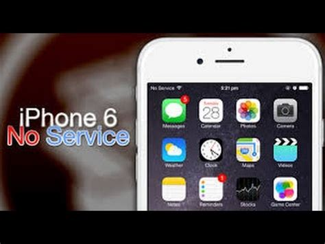 fix no service in apple iphone 4 4s 5 5s