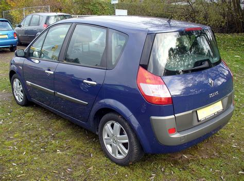 renault scenic 2007 renault scenic ii 1 6 photos and comments www picautos com
