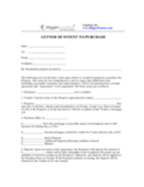 Irrevocable Letter Of Intent To Purchase Commodities Letter Of Intent Template 28 Free Templates In Pdf Word Excel