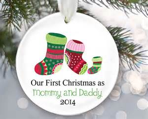 new parents ornament our first christmas as by