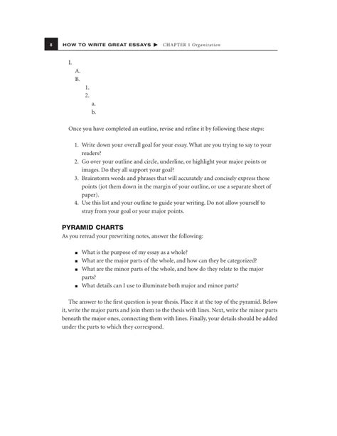 To Great Essay by How To Write Great Essays