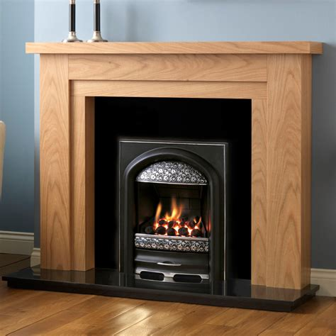 fireplace finishes pureglow hanley oak finish fireplace suite fireplaces are us