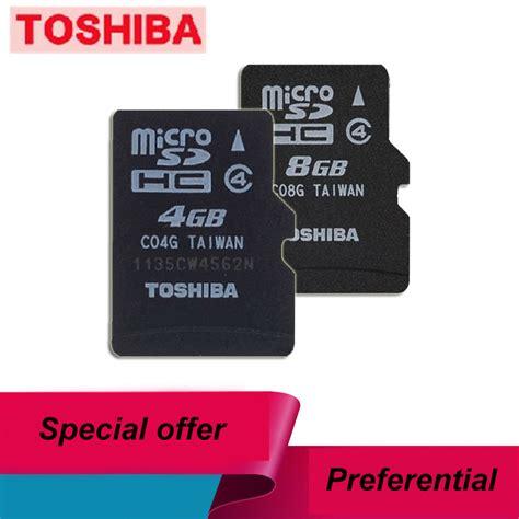 Memory Card 4gb Toshiba toshiba 4gb 8gb memory card tf 4g tf card micro sd4g 4g micro sd8g 8g mobile phone memory