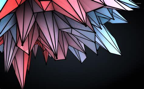 colorful crystal wallpaper colorful crystals wallpaper digital art wallpapers 22818