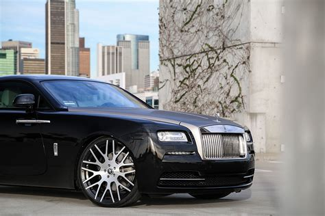 roll royce forgiato rolls royce wraith on monoblock wheels