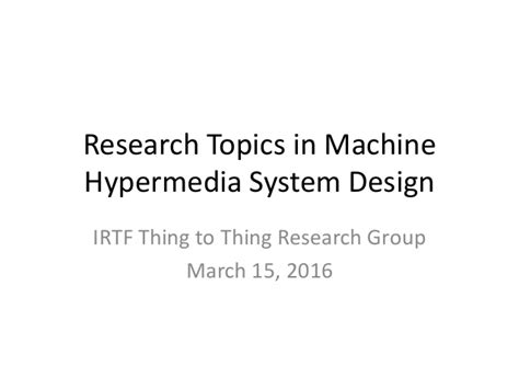 typography research topics research topics in machine hypermedia