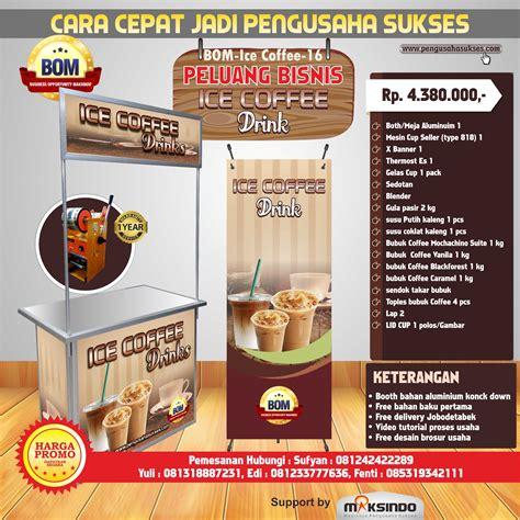 Coffee Makassar Harga paket usaha coffee drink program bom toko mesin maksindo makassar toko mesin maksindo