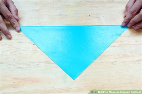 origami boat wikihow how to make an origami sailboat 9 steps with pictures