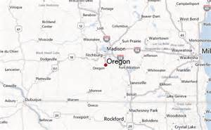 oregon wisconsin map oregon wisconsin location guide