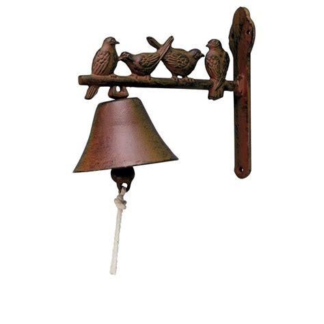 wrought iron bird l cast iron hanging bird doorbell roman at home