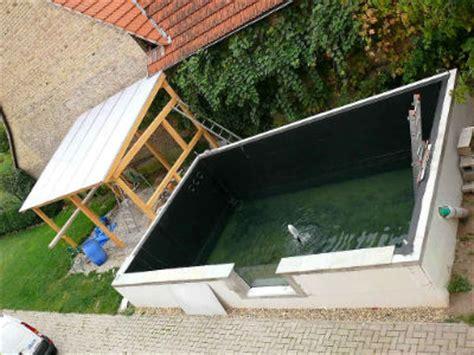 Piscine Hors Sol En Allemagne by Construction D Un Bassin 224 Koi Chez Koiconnect