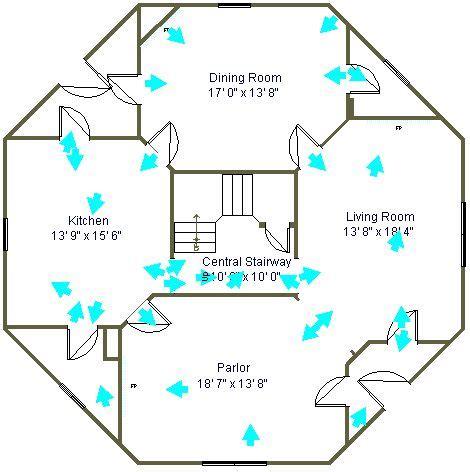 octagon cabin floor plans 22 best octagon house plans vintage custom octagonal home