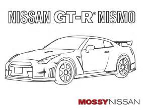 images of nissan skyline gtr free coloring pages