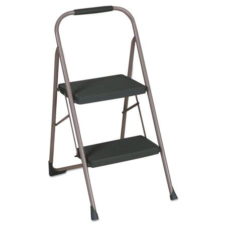 Cosco Two Step Big Step Stool by Cosco 2 Step Big Step Folding Stool 200lb 22 Quot Spread