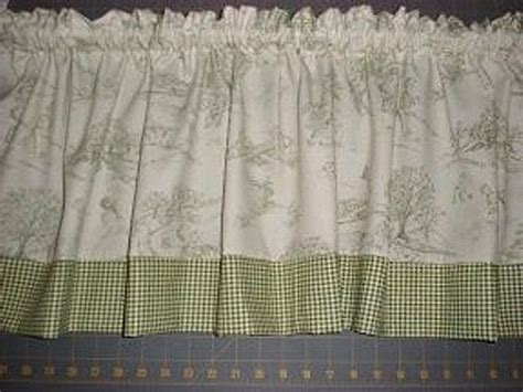 green toile drapes green toile curtains 50w x 84l shower stall curtain