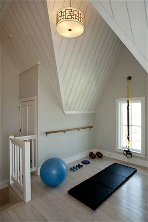 Small For Home Practice Gorgeous Home Fitness Rooms To Keep Moving