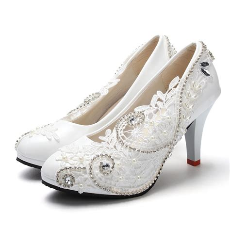 where to get wedding shoes get cheap ivory wedding shoes aliexpress