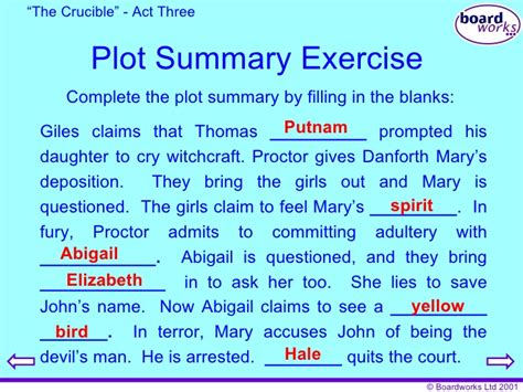themes of act 3 of the crucible the crucible