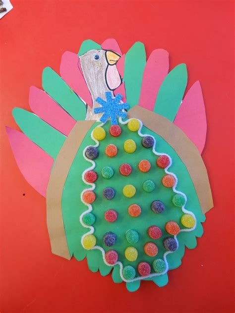 kindergarten blooms turkeys  disguise