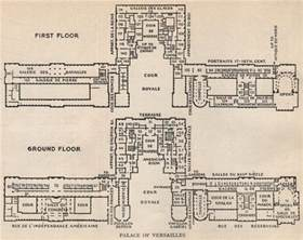 Floor Plan Versailles by Palace Of Versailles Floor Plan Map