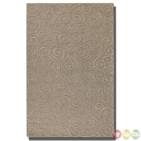 tufted wool rug vienna taupe tufted wool rug 73041