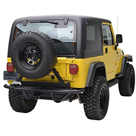 Jeep Yj Rear Bumper E Autogrilles Tj Yj Jeep Wrangler Tubular Rear Bumper With
