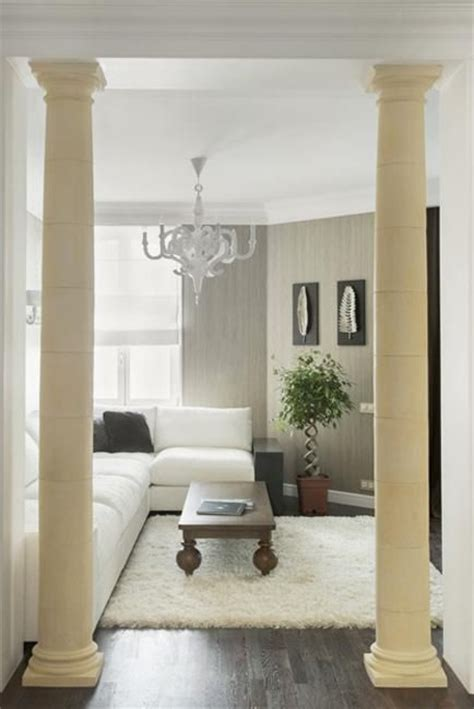 Interior Columns For Homes 35 Modern Interior Design Ideas Incorporating Columns Into Spacious Room Design Home Modern