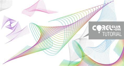 imagenes abstractas lineales tutorial gt formas lineales abstractas en coreldraw