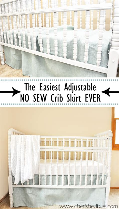 Crib Bed Skirt Tutorial 25 Best Ideas About Crib Skirt Tutorial On Crib Skirts Crib Skirt Patterns And