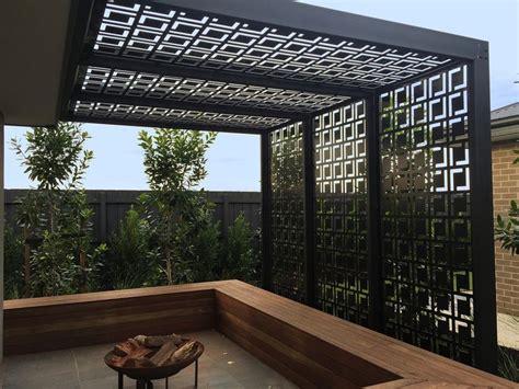 Garden Screen Panels by Best 25 Decorative Screens Ideas On
