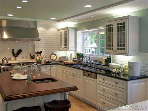 white kitchen wood island popular kitchen colors light colors w island u shaped kitchens popular