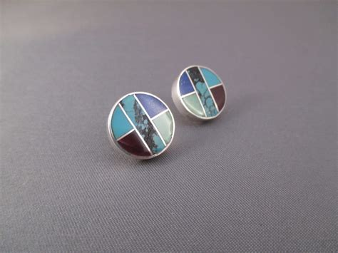 how to make inlay jewelry inlaid multi earrings two grey