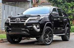 Toyota Fortuner Lift Kit Permaisuri Toyota Fortuner Looks Mighty