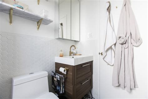 ikea bathroom cost 5 homeowners use an ikea bath vanity for a modern look