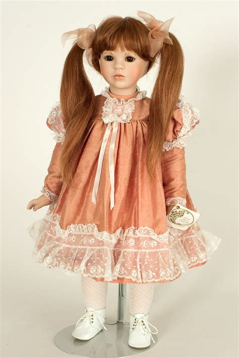 doll on tess porcelain soft doll by