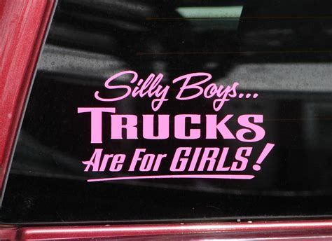 Bumper Stickers Trucks