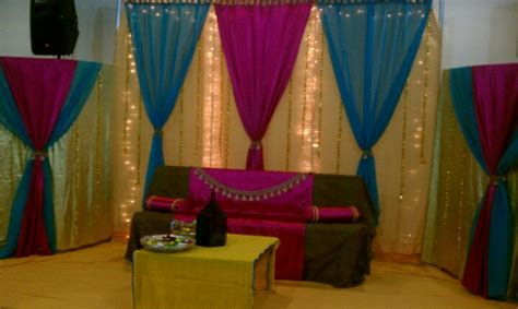 Simple Mehndi Stage Decoration by Simple And Clean Stage For Mehndi Or Mayoon Or