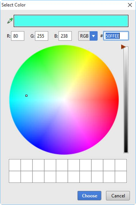 html color picker start with pycharm